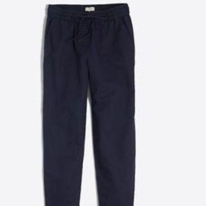J. Crew Women's Linen Cotton Drawstring Pants